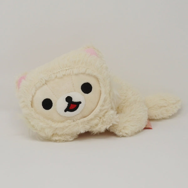 2014 White Rilakkuma Cat (Caravan Limited) Plush - Cat Theme