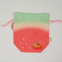 2018 Strawberry Shaped Drawstring Pouch  - Strawberry Party
