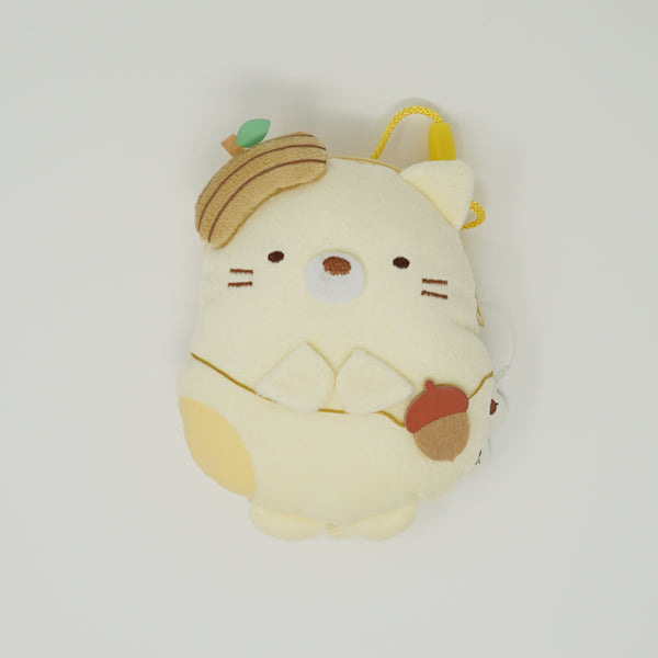 2018 Neko with Acorn Crossbody Pouch Prize Toy