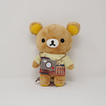 2014 Tokyo Station Rilakkuma with Camera Tee Plush - Souvenir Theme