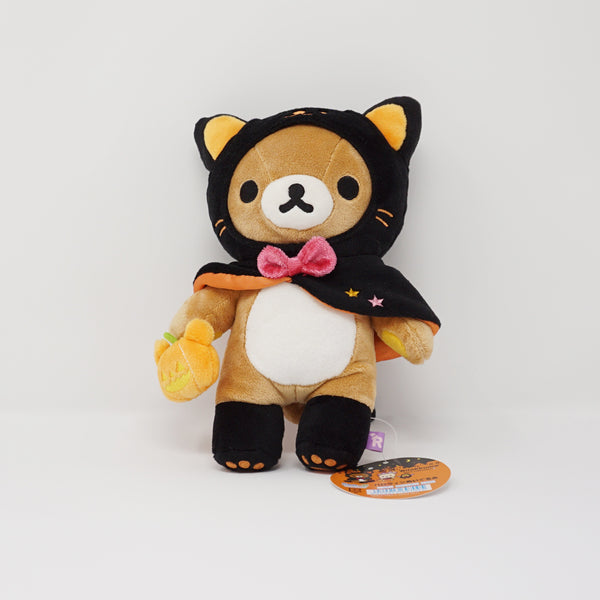 2017 Black Cat Rilakkuma Plush - Halloween Store Limited Plush