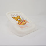 2013 Clear Storage Box (White)  - Happy Natural Time Rilakkuma