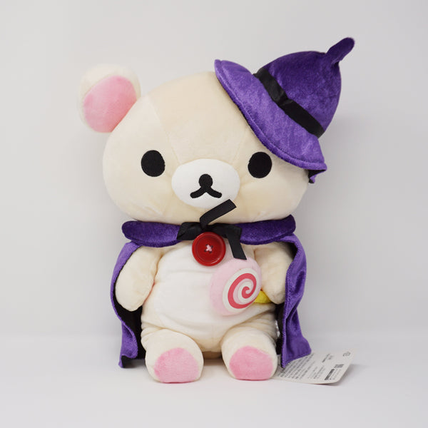 2008 Big Korilakkuma with Purple Cape and Candy Plush - Halloween Store Limited Plush