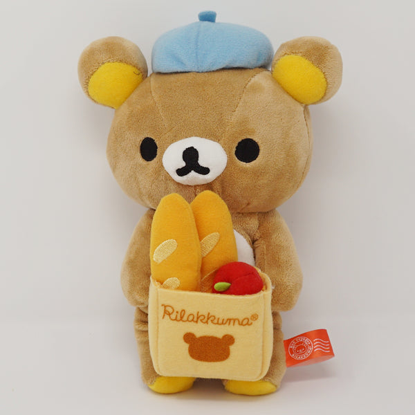 2010 Rilakkuma with Baguette Bonjour Theme Plush
