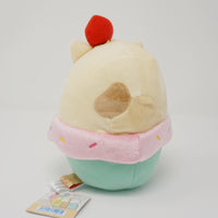 Neko Strawberry Ice Cream Bowl Sumikko Pen Pen Ice Cream Theme Plush