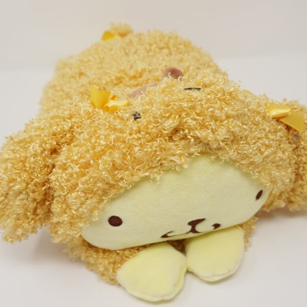 Pom Pom Purin Fuzzy Poodle Dog Plush Cushion