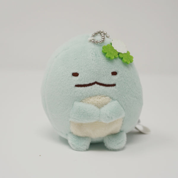 Tokage with Lucky Clovers Plush Keychain - Neko Siblings Theme