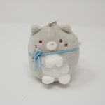 Grey Cat Plush Keychain - Neko Siblings Theme