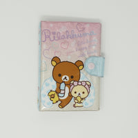 2013 Ring Bound Booklet with Sticker Collecting Sheets - Rilakkuma Heart Bath Time Theme
