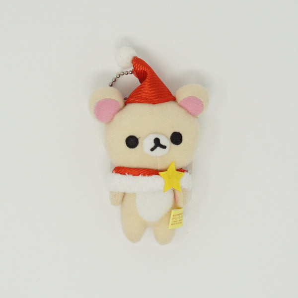 2011 Santa Outfit with Star Korilakkuma  Plush Keychain - Christmas
