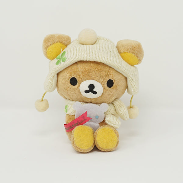 2013 Winter Rilakkuma with Snowman Sendai Store 1st Anniversary Plush - Store Limited