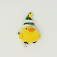 Kiiroitori with Christmas Tree Hat Prize Toy Plush Keychain - Christmas