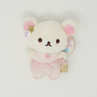 2016 Korilakkuma Plush Keychain - Soft & Sweet Dreams