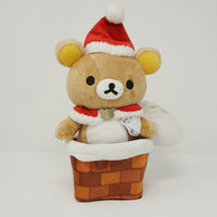 2013 Rilakkuma Santa in Chimney Plush - Christmas Rilakkuma Store Limited