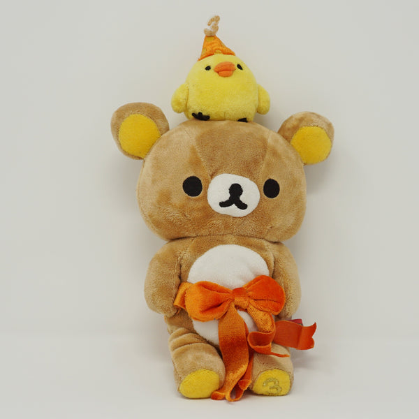 2006 Rilakkuma and Kiiroitori with Bow Plush - 3rd Anniversary