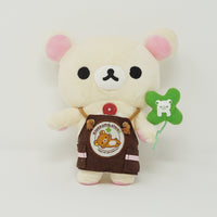 Korilakkuma Store Worker with Clover Plush - Rilakkuma Store Limited