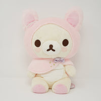 2016 Korilakkuma Bunny Cape Medium Plush - Soft & Sweet Dreams