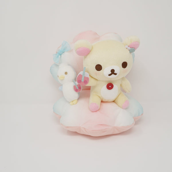 2008 Korilakkuma and Penguin Pastel Plush Playset  - Korilakkuma's Vacation Lottery Prize