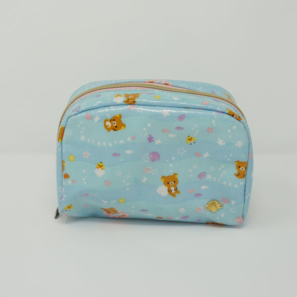2015 Rilakkuma Summer Vacation Theme Cosmetic Pouch