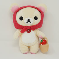 2009 Korilakkuma with Red Bonnet and Strawberries - Strawberry Theme Plush