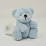 Baby Blue Plush Bear Keychain
