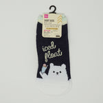"Ladies Socks - Polar Bear ""Iced Float"""