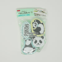 Panda Shaped Sponges