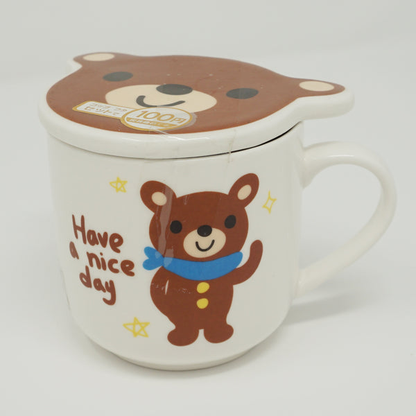Bear Mug with Lid