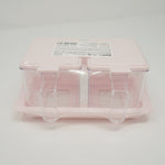 Kitchen Condiment Case with Lid - Pink