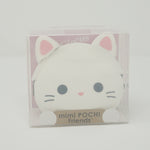 White Cat mimi POCHI Friends Soft Coin Pouch