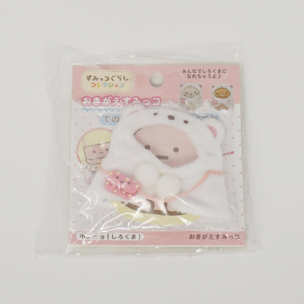 2016 Shirokuma Poncho Plush Outfit - Sumikkogurashi Collection Outfits