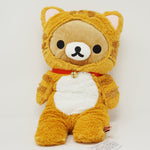 2014 Orange Cat Long Rilakkuma Plush - Rilakkuma Cat Theme