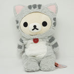 2014 Grey Long Korilakkuma Plush - Rilakkuma Cat Theme