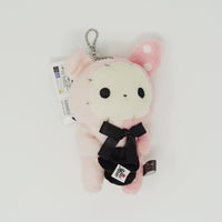 2012 Shappo Holding a Hat Prize Toy Plush Keychain - Sentimental Circus