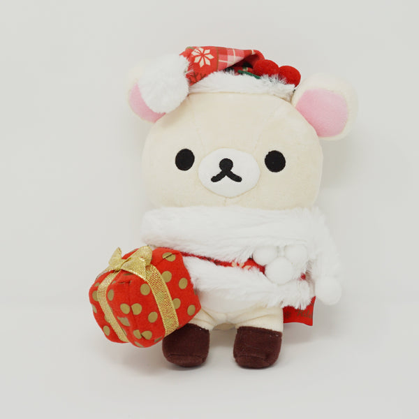 2014 Korilakkuma Plaid Christmas Outfit with Gift Store Limited Plush - Christmas - Rilakkuma