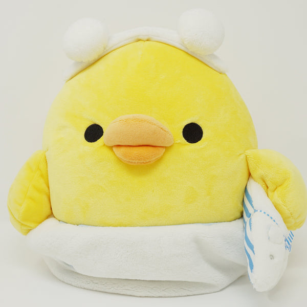 2014 Medium Kiiroitori Plush - Shima Shima Theme - Rilakkuma