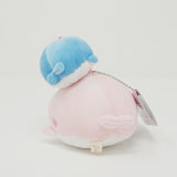 Soft Plush Stacked Keychain - Lost Baby Whale Theme - Jinbesan