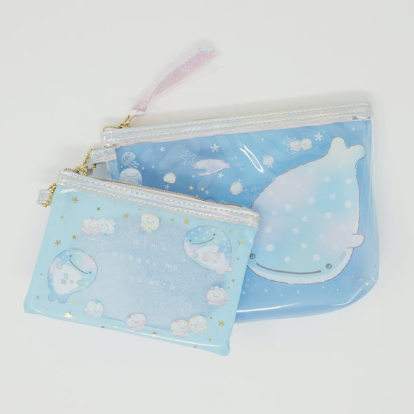 Clear Pouch Set - Jellyfish Theme - Jinbesan