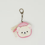 2018 Korilakkuma Pink Backpack Keychain - Always Together Rilakkuma Series