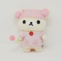 2016 Korilakkuma with Dango Plush - Rilakkuma Tea House Theme - Rilakkuma Store Limited