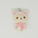 Korilakkuma with Moon - Rilakkuma Pajama Party Plush Prize Keychain  -