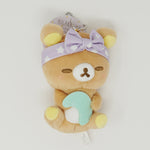 Rilakkuma with Moon - Rilakkuma Pajama Party Plush Prize Keychain  -