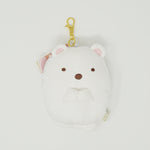 2016 Shirokuma Plush Pass Case with Reel - Sumikkogurashi