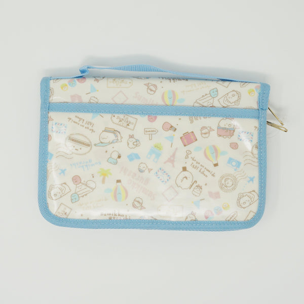 2017 Passport and Travel Zipper Case - Sumikkogurashi Travel Theme