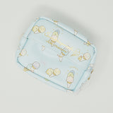 2018 Zipper Pouch with Tissue Section Case - Pen Pen Ice Cream Theme - Sumikkogurashi