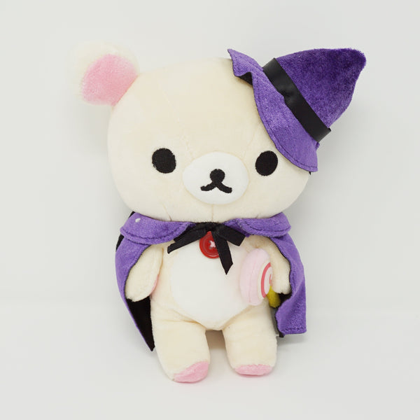 Korilakkuma in Purple Hat and Cape Plush - Rilakkuma Store Limited - Halloween