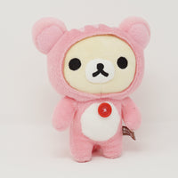 2010 Pink Squirrel Korilakkuma Plush - Relax in the Forest Theme