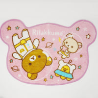 2014 Astronauts in Space Pink Rug - Space Theme Rilakkuma