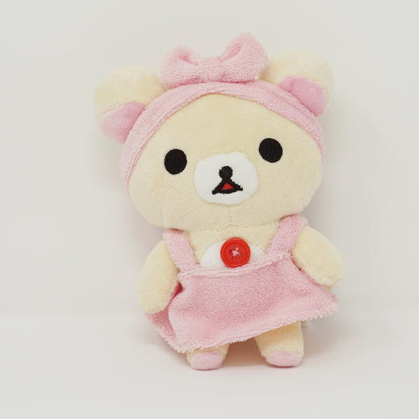 2016 Korilakkuma in Pink Outfit Plush - Rilakkuma Relax at Home Theme