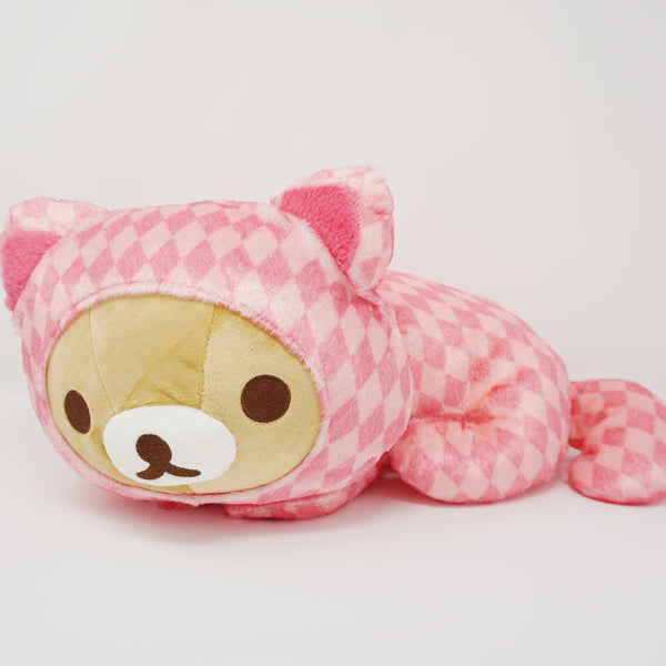 2018 Cheshire Cat Rilakkuma Medium Plush - Rilakkuma in Wonderland Theme